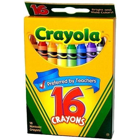 Crayola Crayons 16 Colors by Crayola
