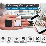 C1 Mini Web Camera WIFI P2P IP Mini Camera DV Video Recorder Multi Portable Camera HD 720P H.264 Micro DVR Action Camera (white)