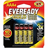 Eveready Gold AAA Batteries Per 4