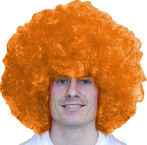 Perruque super big afro orange 220g