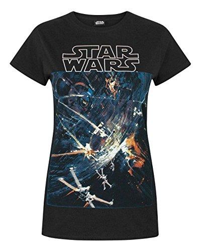 Star Wars Death Star Women's T-Shirt (S)
