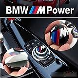 29mm emblem M Sport Button i Drive Controller Badge Logo Multimedia Sticker