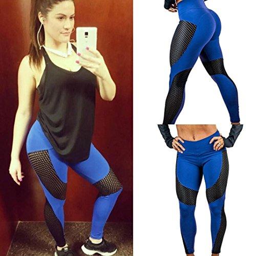 Tpulling - Leggings sportivi -  donna Blu