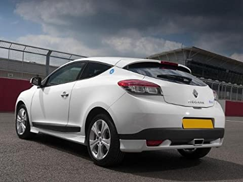 Renault Megane Mk3 Coupe Sport Performance Rear Bumper Extension