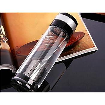 OBOR Trinkflasche Glas Classic Glasflasche, 550ml Hochwertige ...