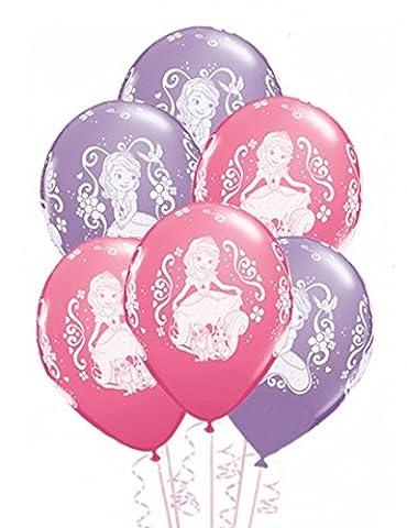 Ballons princesse Sofia (x6)
