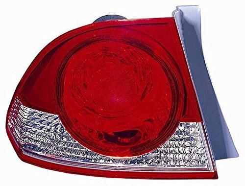 504450 FARO FANALE POSTERIORE SX Honda CIVIC HYBRID 4 PORTE 2006/05-