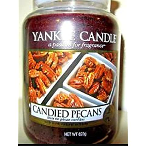 Yankee Candle Candied pecans grande barattolo CI fragranza Autunno 2016