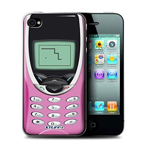 Stuff4 Hülle / Case für Apple iPhone 7 Plus / Rosa Nokia 8210 Muster / Vintage Handys Kollektion Rosa Nokia 8210