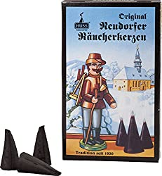Weihnachtsduft - Huss Original Neudorfer Räucherkerzen aus dem Erzgebirge
