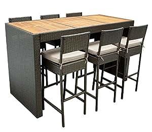 barset cortina 13 teilig 6x barstuhl 1x bartisch. Black Bedroom Furniture Sets. Home Design Ideas