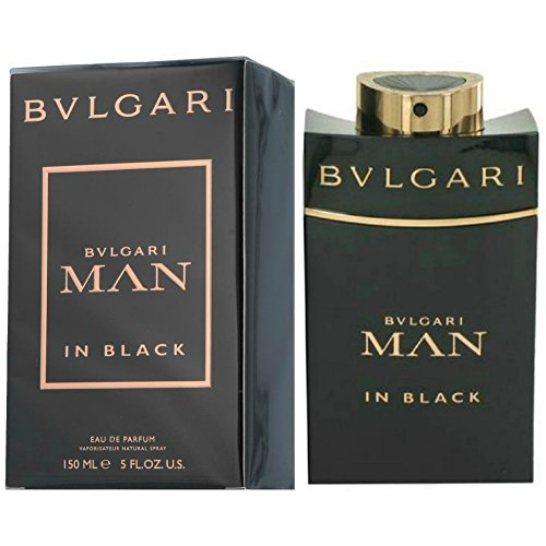 PERFUME PARFÜM FÜR MANN MAN BULGARI BVLGARI MAN IN BLACK POUR HOMME 150 ML EDP 5 OZ 150ML MEN EAU DE PARFUM SPRAY 100% - Männer, Parfums Bulgari