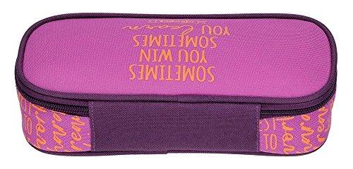 Movom Smile Neceser de Viaje, 22 cm, 0.99 Litros, Morado