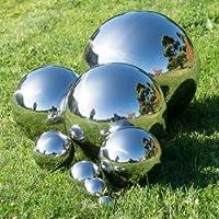 Sfera in acciaio inox–Ø 25cm–Galleggiante e resistente agli agenti atmosferici