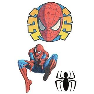 Unbekannt 3 TLG. Set: Haut Tattoo  Amazing Spider-Man  Junge für Kinder - Tattoos Hauttattoo - Spiderman Aufkleber Sticker - für Erwachsene - Action Held Figur Spinne