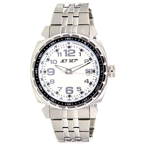 Jet Set Men's Watch Silver/Black J74444 112 New York
