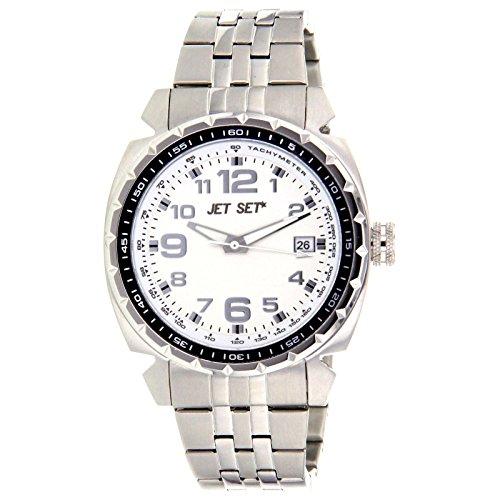 Jet Set Men's Watch Silver/Black J74444112New York