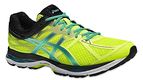 Asics Gel-cumulus 17, Herren Laufschuhe flash yellow/pine/black