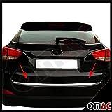 Hyundai IX35 2010> Chrom Heckleiste Zierleiste Edelstahl