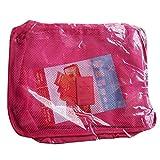 Morelyfish 6 Pezzi di Viaggio Piazza del Sacchetto dell'organizzatore di deposito Bagagli Sacchetti di Vestiti della Cassa del Sacchetto di imballaggio cubi Adatto a Viaggio