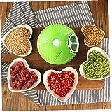 1Pcs mano verde Tirare Meat Grinder Mincer Frutta Verdure tritatutto per alimenti Cutter cipolla Shredder cucina Strumenti Meat Grinder