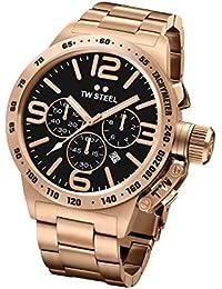 Tw Steel CB173 - Reloj de pulsera para hombre, negro / oro
