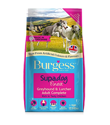Burgess Dog Food Greyhound and Lurcher with British Chicken 12.5kg