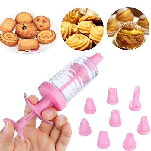 (TAOtTAO Plätzchen-Keks, der Hersteller-Pumpen-Presse-Maschinen-Dekor-Küche-Formwerkzeug-Satz macht Cookie Dry Flower Gun Set)