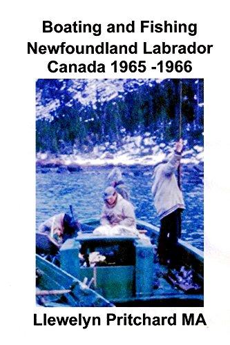 Boating and Fishing Newfoundland Labrador Canada 1965-1966, usato usato  Spedito ovunque in Italia