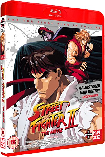 Street Film Fighter (Street Fighter II: The Movie [Blu-ray] [UK Import])