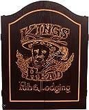 Cabinet Kings Head schwarz