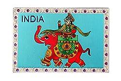Adaa Foil Fridge magnet with Maharaj design