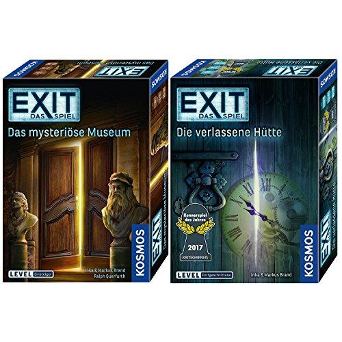 Kosmos 2er Set 694227 692681 Exit - Das Mysteriöse Museum + Exit - Die verlassene Hütte