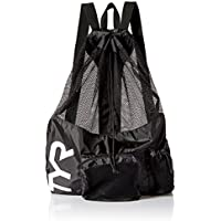TYR Big Mesh Mummy - Mochila (20 L), color negro