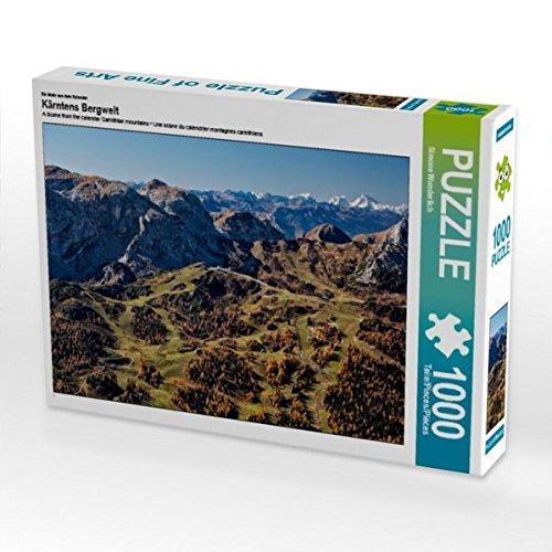 Preisvergleich Produktbild Ein Motiv aus dem Kalender Kärntens Bergwelt 1000 Teile Puzzle quer