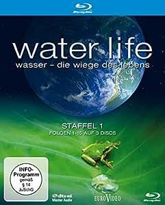 Water Life: Wasser - Die Wiege des Lebens, Staffel 1, Folgen 01-15  [Blu-ray]