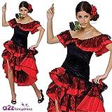 Déguisement Adulte de Danseuse Espagnole de Flamenco - Taille XL