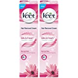 [Sponsored]Veet Hair Removal Cream For Normal Skin - 100 G (Pack Of 2)