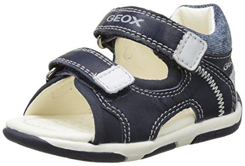 Geox B Sandal Tapuz Boy A, Scarpe Primi Passi Bimbo, Blu (Navy/WHITEC4211), 21 EU