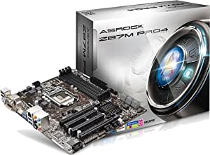 ASRock Z87M PRO4 Motherboard (Socket 1150, Z87 Express, DDR3, S-ATA 600, Micro ATX, Haswell, Supports 4th Generation IntelCore Processors)