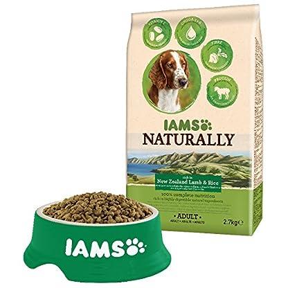 Iams Naturally New Zealand Dog Lamb (Dry Dog Food For Adult Dog with Lamb & Rice), 800 g 2