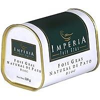 Imperia - Foie gras de pato natural en bloc