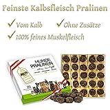 Alto-Petfood - Premium Hunde-Pralinen vom Kalb | in Hochwertiger Geschenk-Box | 100% Naturprodukt | Besondere Hundeleckerlies (Kalb, 1 Packung)