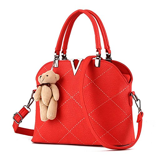 koson-man-womens-huge-pu-leather-bear-decorate-vintage-tote-bags-top-handle-handbagred