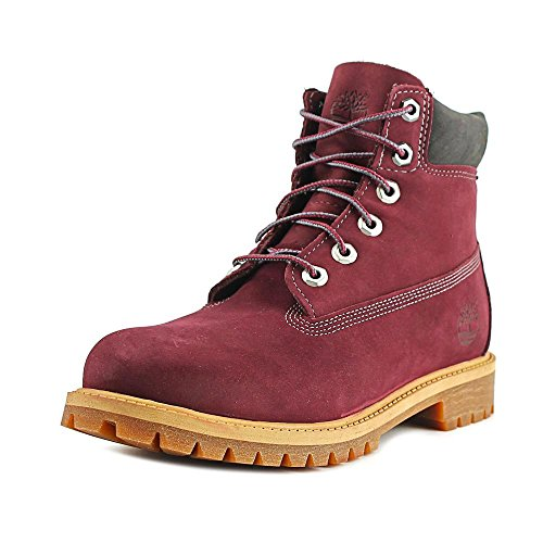 Timberland 6 in Classic Boot FTC_6 in Premium WP Boot 14749, Unisex-Kinder Stiefel Dark Port