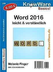 KnowWare Word 2016 leicht & verständlich