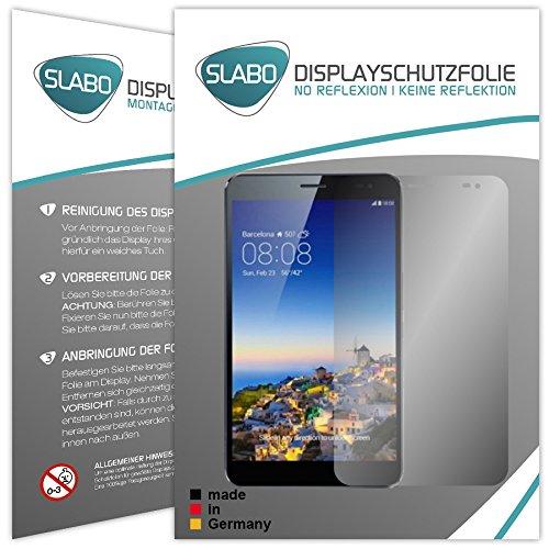 """Preisvergleich Produktbild 2 x Slabo Displayschutzfolie Huawei MediaPad X1 7.0 Displayschutz Schutzfolie """"No Reflexion Keine Reflektion"""" MATT - Entspiegelnd MADE IN GERMANY"""