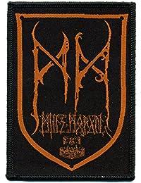 Minas Morgul–Logo marrón rojo–Patch/parche