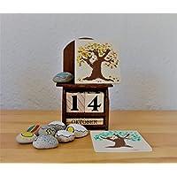 Dauerkalender Kalender Montessori Waldorf Jahreszeiten öko Wetter Kindergarten Schule Kita Tage Monate Jahr Ewiger Kalender