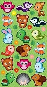 EK Success Brands Sticko Stickers, Cutie Critters by EKS